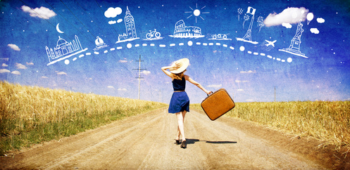 Travelling improves health